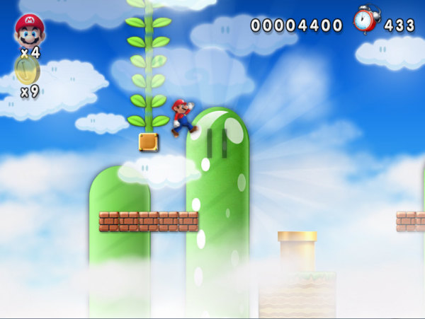 New Mario Forever High Plant