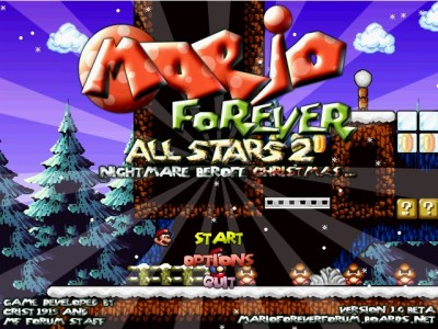 Mario Forever All Stars 2 - Nightmare before Christma